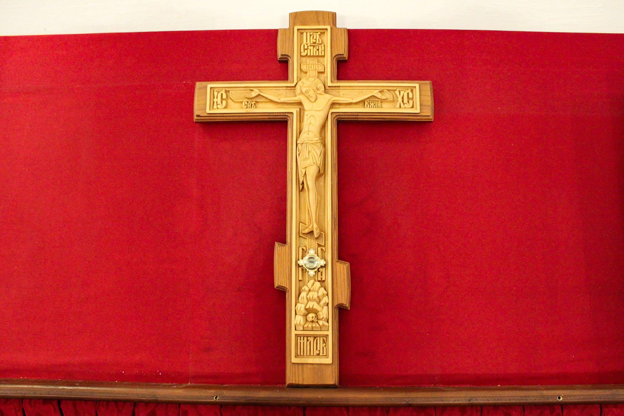 «Кресте пречестный, / eгоже обстоят чини ангельстии, веселящеся, / днесь воздвизаемь…» В Нило-Столобенской пустыни встретили двунадесятый праздник Воздвижения Честного и Животворящего Креста Господня 29